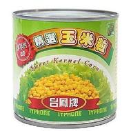台鳳 非基因改造玉米粒(340g/罐) [大買家]