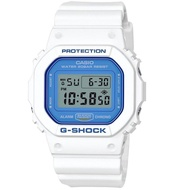 Casio G-Shock DW5600WB-7 White and Blue Series Watch