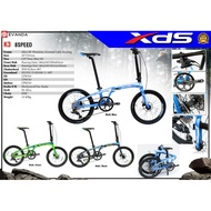 XDS Folding Bike 20 Wheel - K3 (Limited Edition) 2021