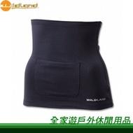 【全家遊戶外】㊣ Wildland 荒野 台灣 中性遠紅外線保暖肚圍 0A12031-54 黑/ 貼身曲線 束腹肚圍