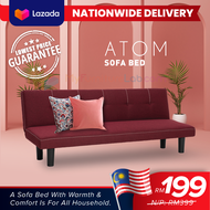 [READY STOCK] MYFURNITURELAB: 2 Seater Atom Foldable Sofa Bed