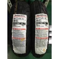 『油工廠』BRIDGESTONE 普利司通 BATTLAX SC 110/90-13 機車 輪胎 13吋 完工2300