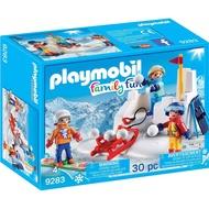 playmobil 滑雪系列 打雪球與堡壘