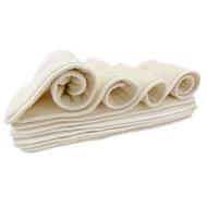 熱銷寶寶實用環保布尿布Nora's  Nursery混合型竹纖維尿墊(10條)四層竹纖維隔尿墊適用口袋/尿兜