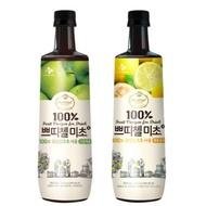 Costco 韓味不二 綜合果醋組 (青蘋果/檸檬柚子) 900毫升 X 2入