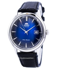 Orient Bambino Version 4 Classic Automatic Men's Leather Strap Watch FAC08004D0