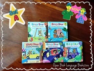 SET A  BIZZY BEAR books collection  1 SET of 5 books
