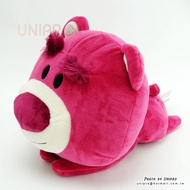 【UNIPRO】迪士尼 LOTSO 熊抱哥 趴姿 大頭小身 桌緣 絨毛玩偶 娃娃 30公分 玩具總動員