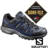 【SALOMON 法國】男 TSINGY GTX 低筒登山鞋『磁石灰幻影灰反射藍』394686 GORE-TEX|越野鞋|野跑鞋|登山鞋|健行鞋|防水|戶外|露營