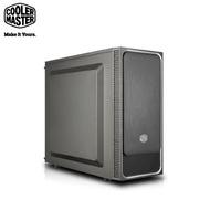 CM 酷碼 MasterBox E500L 電腦機殼-銀 (ATX/滑動面板/5.25槽*1/內建風扇後1/顯卡399mm/塔散157mm)