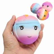 Squishy Strawberry Face 9cm Soft Slow Rising With Packaging Collection Gift Decor Toy