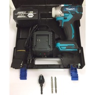保固半年 無刷衝擊起子機 大功率電鑽 天成 21V 家用款 附塑膠手提盒
