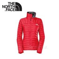 《低溫特報》【The North Face 女 800FP FILL抗水羽絨外套《紅》】A2V6/保暖外套/防潑水/輕量羽絨