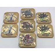 神奇寶貝 寶可夢 Tretta 退坑出清 金卡黑卡 送14盒公仔 含運費 阿爾宙斯裂空座酋雷姆胡帕基格爾德夢幻雪拉比