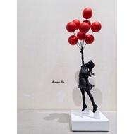 Banksy FlyingBalloonsGirl 氣球女 MedicomToy SYNC 藝術 公仔 kaws 中村萌