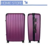 กระเป๋าเดินทาง กระเป๋าเดินทางล็อกรหัส กระเป๋าเดินทางกันน้ำ กระเป๋าเดินทางล้อลาก ขนาด 20 / 24 / 28 นิ้ว ABS+PC