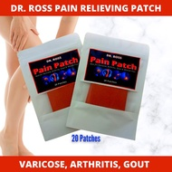 pain patch 100% Authentic and Effective Dr. Ross Pain Patch (Best for Varicose, Arthritis, Gout & Mu