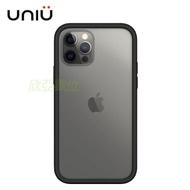 UNIU 防摔矽膠框iPhone 12 6.1吋經典黑色