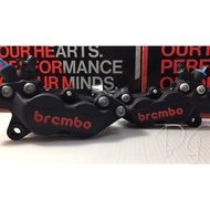 [BG] Brembo對四 卡鉗 黑底紅字 卡鉗 煞車油 左卡右卡 勁戰系列 雷霆 JETS