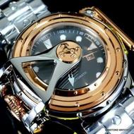 《大男人》invicta #0449 Russian 50mm復古機械錶。