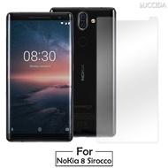【LUCCIDA】Nokia 8 Sirocco(9H鋼化玻璃貼2.5D)