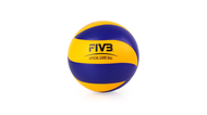 MIKASA 超纖皮製比賽級排球MVA200 - 5號球 FIVB指定球 藍黃@MVA200@