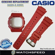 Original Replacement Band and Bezel for CASIO G SHOCK DW-5600P-4