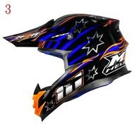 (剩下L號)台中安全地帶 M2R X-4 外銷版 越野帽 滑胎帽 複合纖維輕量化 內襯全可拆洗X4 #8黑藍+燙銀星星