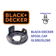 BLACK AND DECKER SPOOL COVER CAP MODEL:GL300 / GL260 SPRING GRASS TRIMMER,SPARE PART ACCESSORIES
