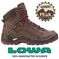 【LOWA 德國】Renegade GTX 標準版中筒防水登山鞋 女款 咖/桃 (LW320945-4251)