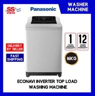 Panasonic NA-FS16G4SRT 16KG ECONAVI Inverter Top Load Washing Machine