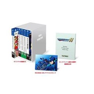 (12月預購) 日版(E-CAPCOM)洛克人 X 遊戲片 收藏盒 五合一 命運齒輪 腳本 30週年紀念 5in1
