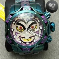 高品質 現貨實物拍攝 INVICTA 英威塔 30124 DC聯名Joker 小丑經典鋼帶款