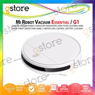 [Ready Stocks & Free Shipping] Xiaomi Mijia Mi Robot Vacuum Mop Essential G1   Global Version [2200Pa Suction Power  Sweep & Mop  Auto-Recharge  No-Go Zone] Smart Robot Vacuum Cleaner With 6 Months / 12 Months Warranty