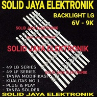 promo BACKLIGHT TV LED LG 49 INC 49LF550 A 49LB550 A 49LF 49LB 550 6V 9K CEKUNG 49 LF 49 LB BL LAMPU LG 49 INC 49INC 49 INCH LG limited