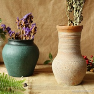 Magi Waxy Pottery Pot Vase Flower Pot Vintage Soil Breathable