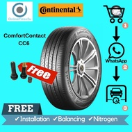 205/55R16 - Continental ComfortContact CC6 (With Installation)