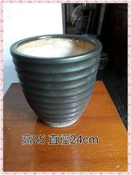 C-52 陶瓷造型花盆.花器.二手新品未使用*台中古意二手生活館*
