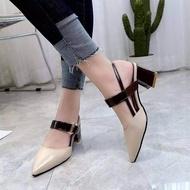 ✨✨ รองเท้าคัชชูส้นเตี้ยเพื่อสุขภาพ หัวแหลม นิ่มใส่สบาย ✨✨