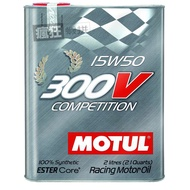 ◀瘋狂蝦拼▶Motul  300V Competition 15W50 雙酯基合成機油 #9927
