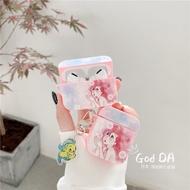 台南現貨當天出-Apple蘋果原廠 AirPods 1/2 耳機專用套3代Airpods Pro 保護套 粉色美人魚