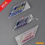摩托車本田 泰國電噴 彎刀 車頭F1標志 PGM-F1貼花貼紙 軟標 貼標