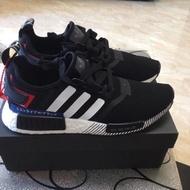 新款 Adidas NMD R1 Japan 日本限定 黑白 黑紅 白紅 日文 BOOST EF2357 EF0753