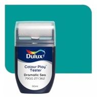 สีขนาดทดลอง Dulux Colour Play™ Tester - Dramatic Sea 79GG 27/362
