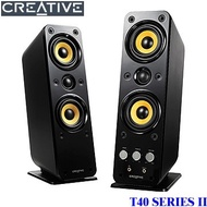 音響等級 CREATIVE T40 SERIES II 2.0聲道多媒體喇叭 T40 SERIES II