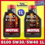 Motul Fully Synthetic 8100 X-cess 5W40 8100 X-clean EFE 5W30 (1L)
