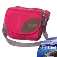 【美國 OverLand】Bayliss 超輕量多功能單肩側背包3L/時尚腰包.防潑水.斜背包/OL161NBD0903 玫瑰紅