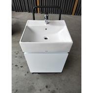 衛浴特賣~~TOTO ~LW711臉盆+浴櫃