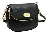 (Michael Kors) Michael Kors Handbag, Genuine Leather Xbody Black-