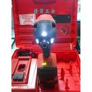 【泵浦五金】 喜利得*喜得釘電鑽HILTI*SID14A 無碳刷馬達14.4V鋰電池衝擊起子機~3.3A